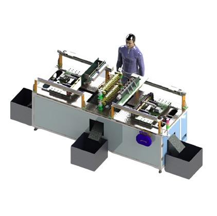 橡胶全自动模芯取出脱模机